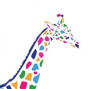 Giraffe graphic