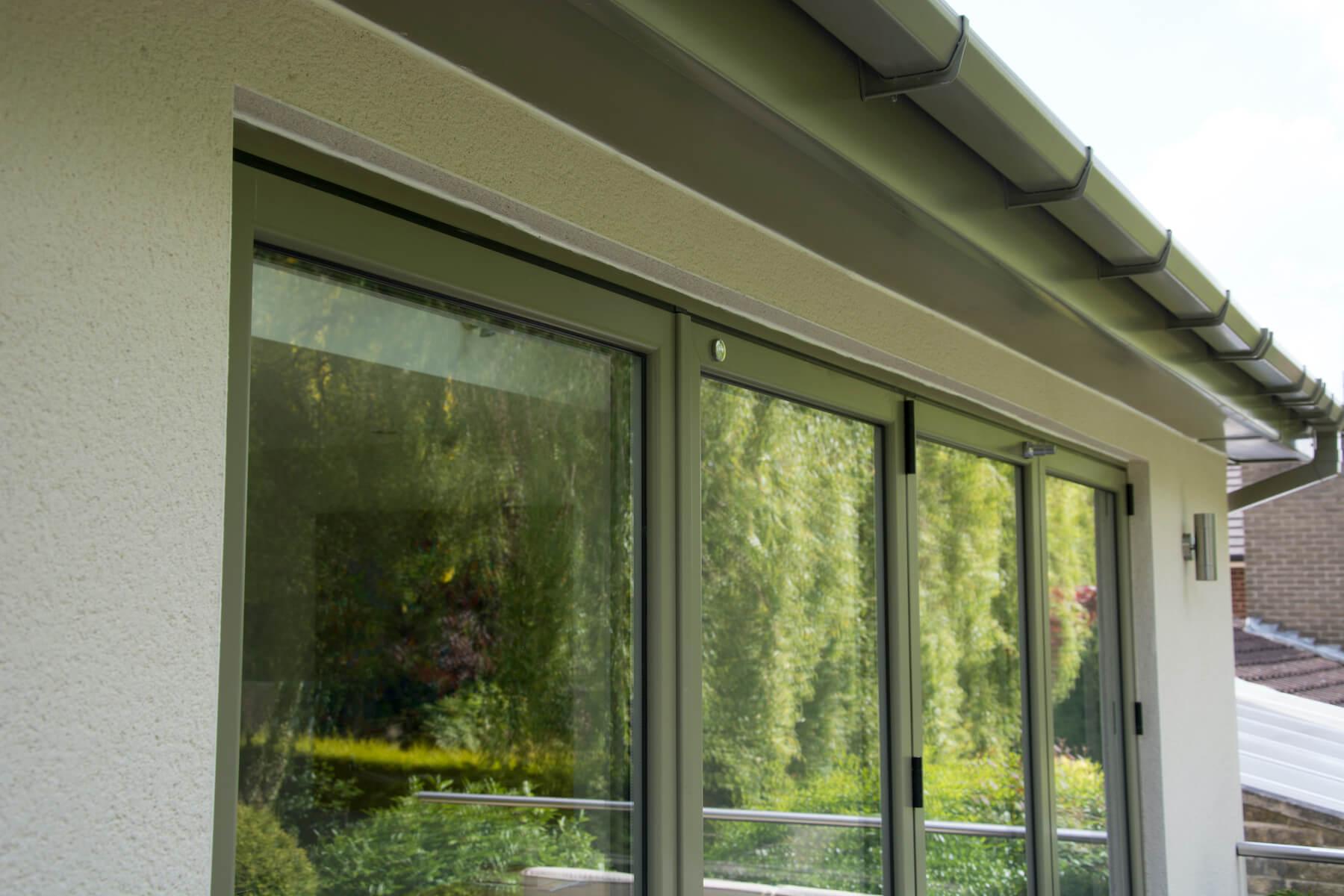 Roofline on conservatory