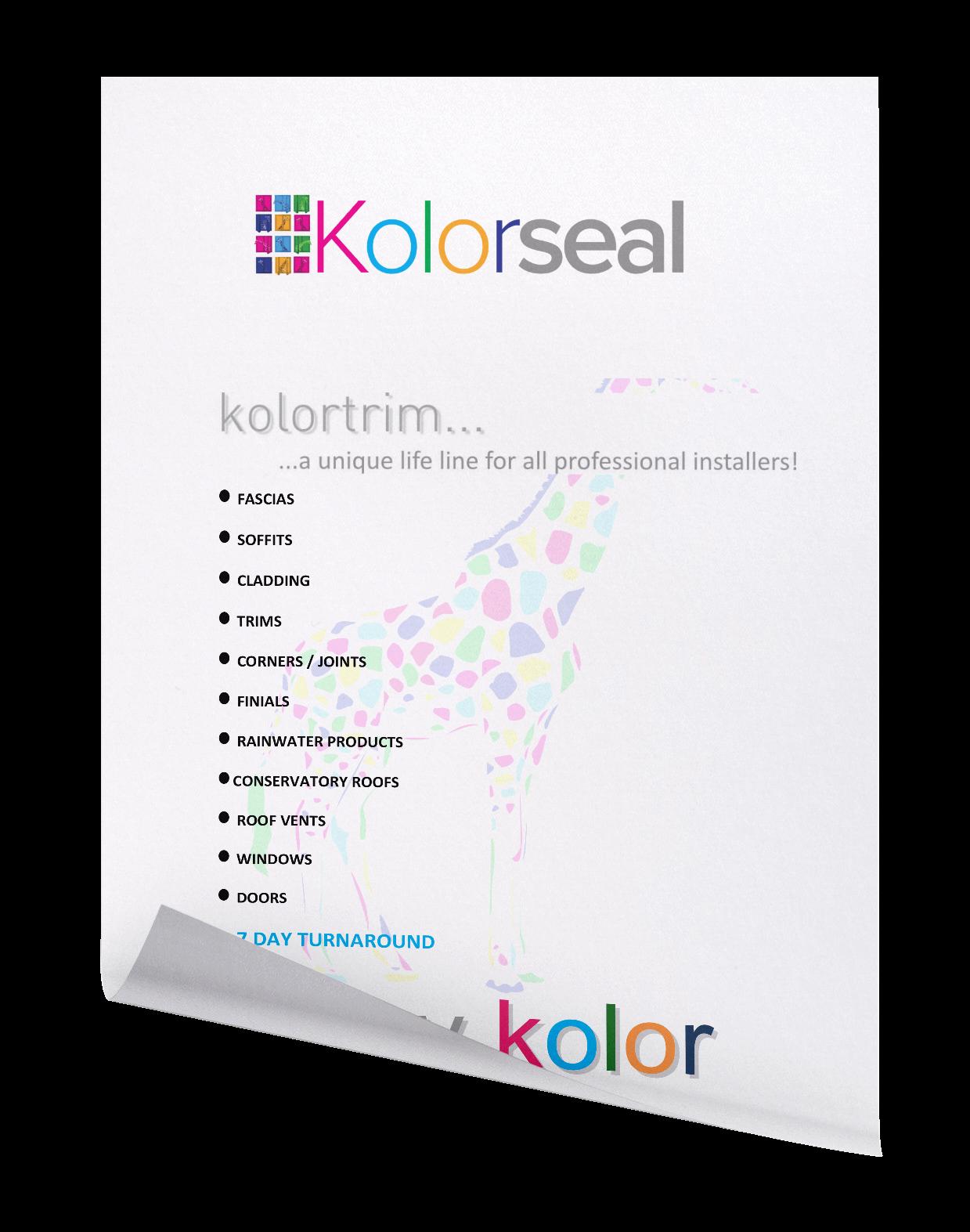 Kolorseal colour info