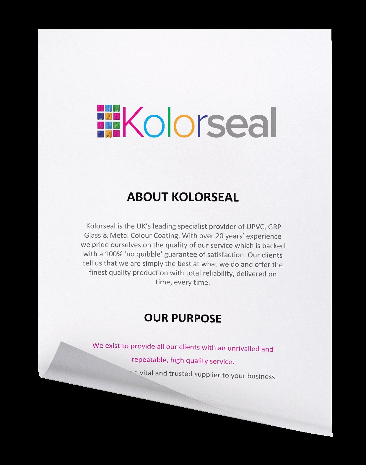 About Kolorseal